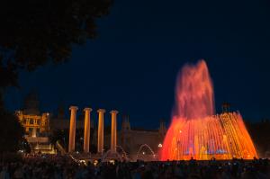 Barelona magiczne fontanny 300x199 Barcelona magiczne fontanny