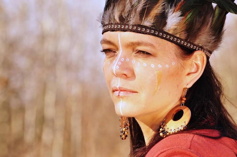 portrety kobiet3 960x637 Plener fotograficzny indiańsko kowbojski