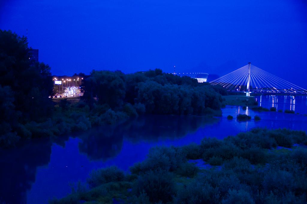 wisla most swietokrzyski stadion warszawa noca Nivo Slider
