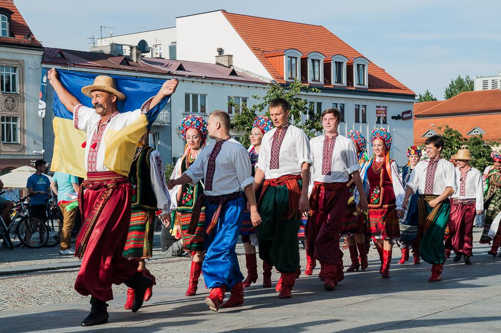 bialystok Festiwal Wielu Kultur i Narodow Ukraina Białystok   zachwycający w dzień i w nocy