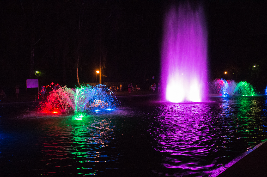 bialystok fontanny aleja zakochanych Białystok   zachwycający w dzień i w nocy