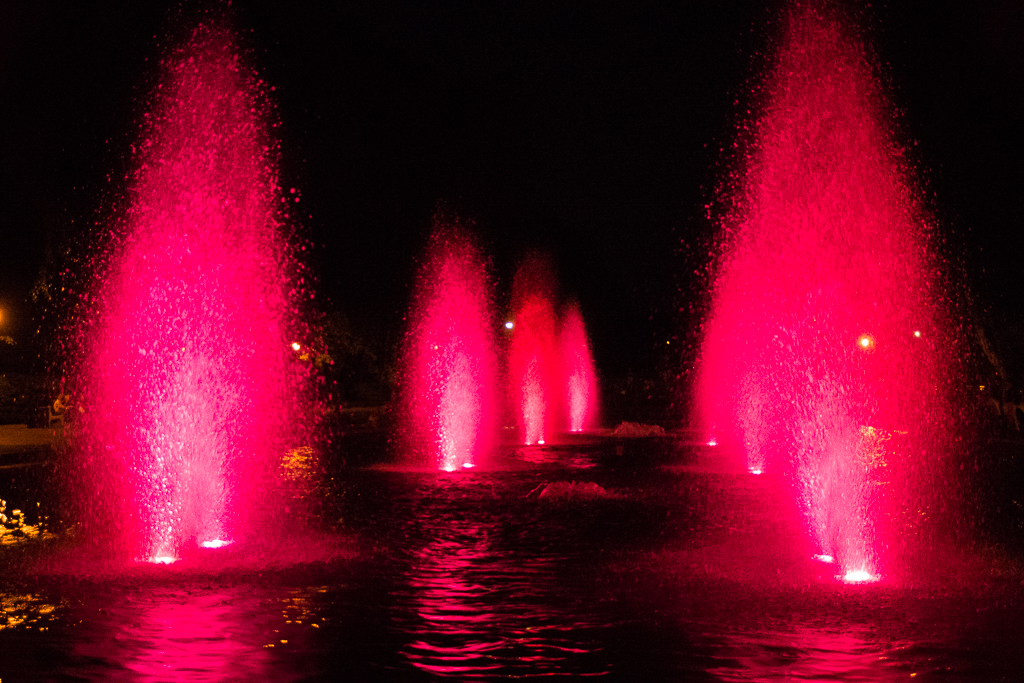 bialystok fontanny planty park Białystok   zachwycający w dzień i w nocy