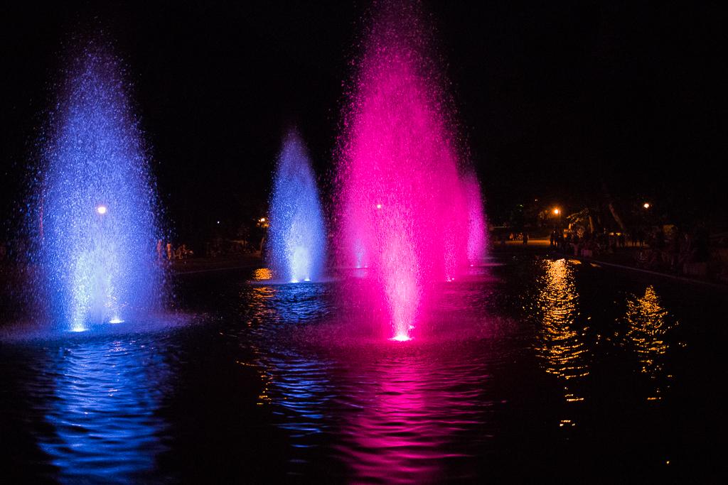 bialystok fontanny planty Białystok   zachwycający w dzień i w nocy