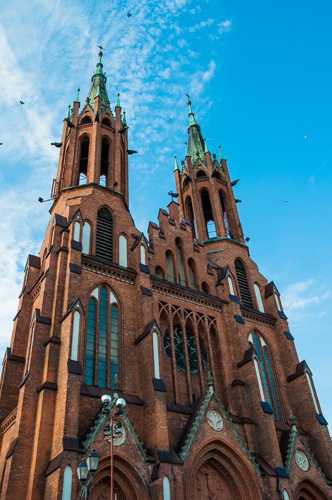 bialystok katedra Białystok   zachwycający w dzień i w nocy