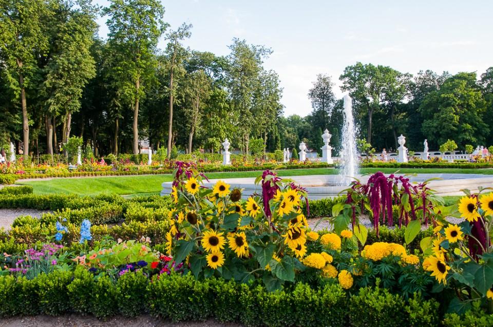 bialystok ogrody palac branickich 960x637 10 miejsc na weekend w Polsce