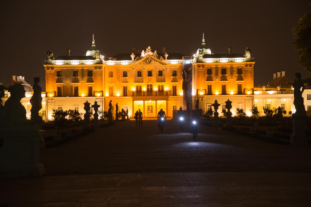 bialystok palac branickich noca Białystok   zachwycający w dzień i w nocy