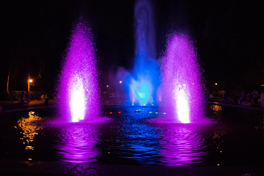 bialystok pokaz fontann Białystok   zachwycający w dzień i w nocy
