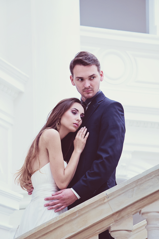 sesja zdjeciowa slubna politechnika warszawska Magiczny plener ślubny z Pauliną Drozdą   efekty warsztatów