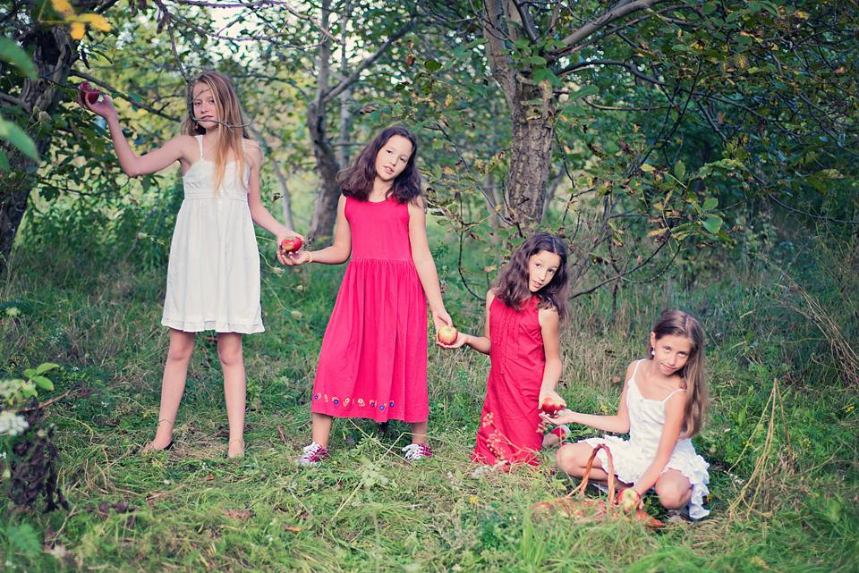 sesja fotograficzna pozegnanie wakacji Ursynów Sesja zdjęciowa z okazji zakończenia wakacji i rozpoczęcia roku szkolnego