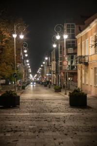 Kielce zdjecia nocne ulica Sienkiewicza 200x300 Kielce zdjecia nocne ulica Sienkiewicza