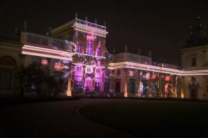 Wilanow mappingi na fasadzie Palacu 300x200 Wilanów mappingi na fasadzie Pałacu