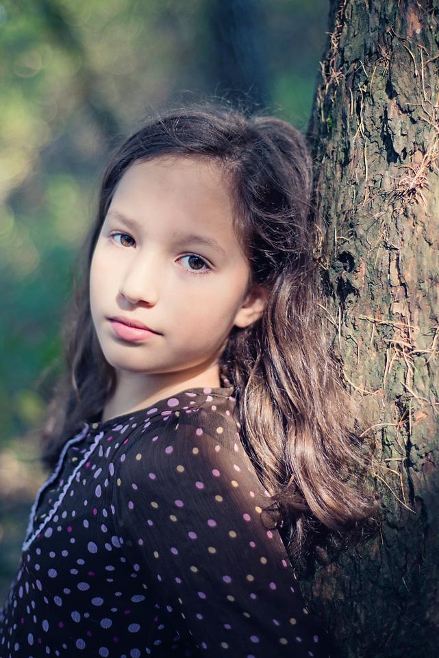 portret jesienny Warszawa Sesja zdjęciowa w Lesie Kabackim