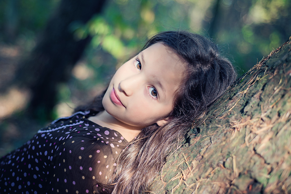 Portret nastolatki sesja zdejciowa