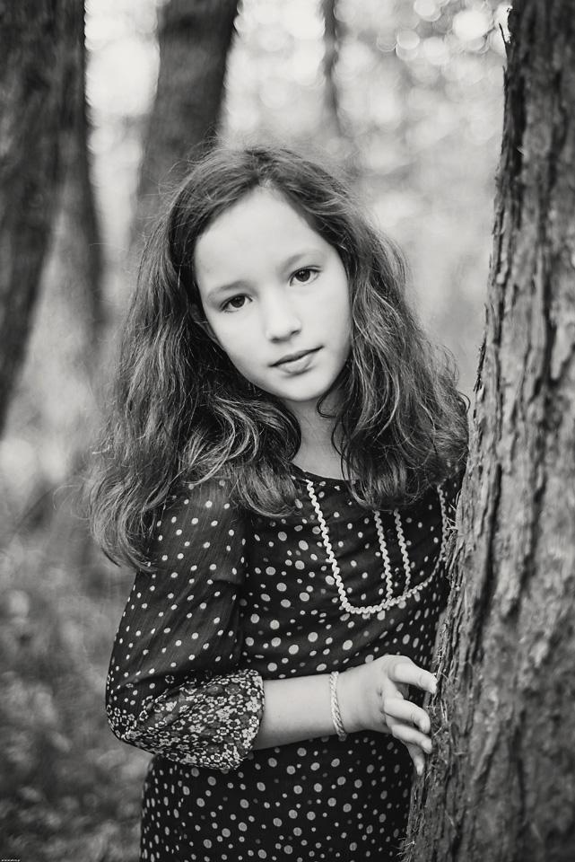 sesja black and white las kabacki Iza Sesja zdjęciowa w Lesie Kabackim