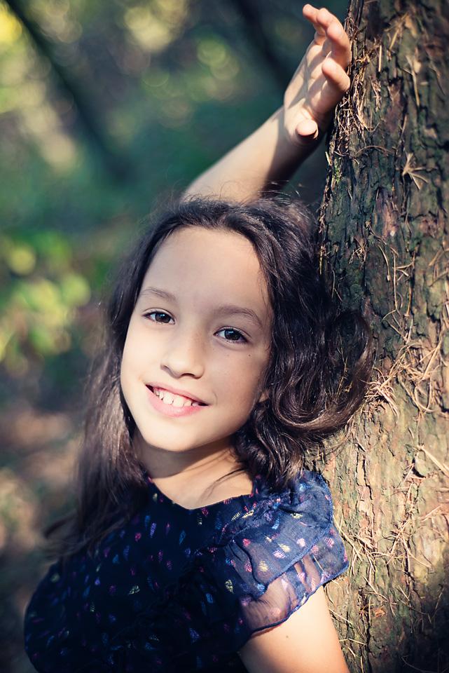 sesja fotograficzna nastolatka Sesja zdjęciowa w Lesie Kabackim