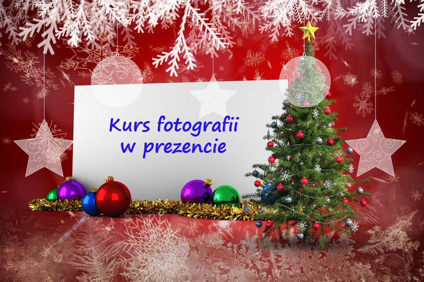 Bon podarunkowy kurs fotografii