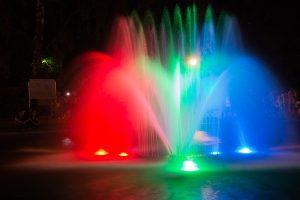 bialystok noca fontanna planty 300x200 Białystok nocą fontanna w Parku Planty