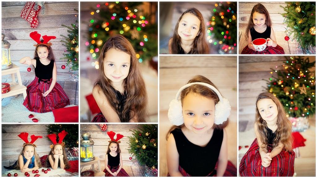sesje swiateczne Warszawa Łucja Minisesje świąteczne bożonarodzeniowe