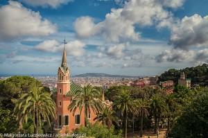 Barcelona Parc Guell Kosciol 300x199 Barcelona Parc Guell Kościół