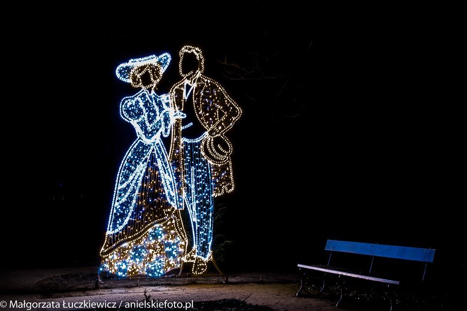 Lazienki Krolewskie Iluminacje 2 960x640 Warszawskie iluminacje świąteczne