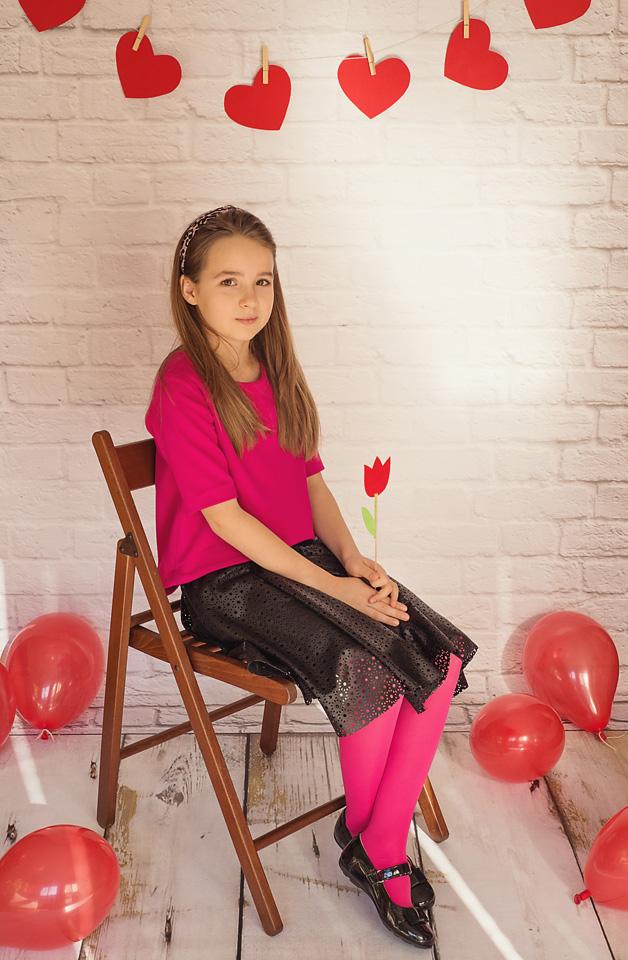 walentynki sesja Ola Sesja z okazji Walentynek Ola i Zuzia