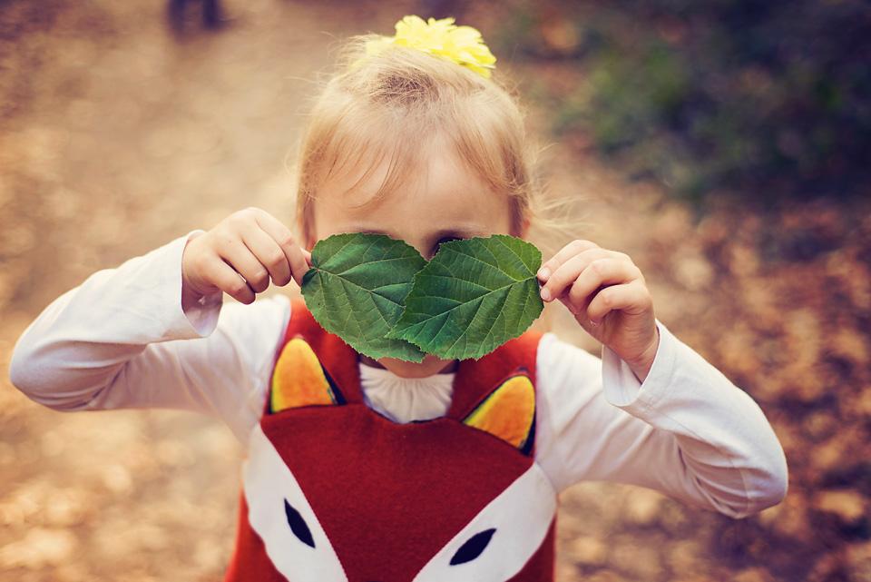 Sesja fotograficzna jesienią
