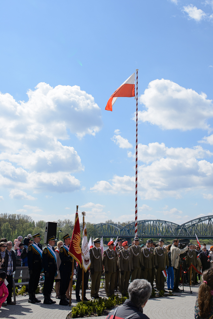Toruń święto flagi Majówka w Toruniu