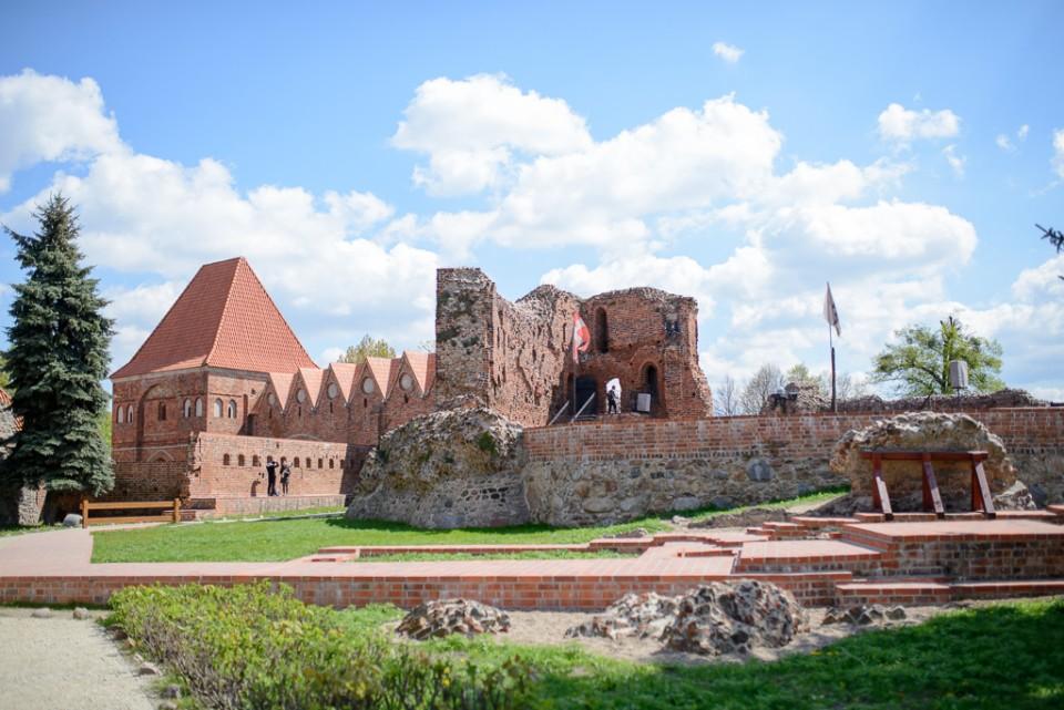 zamek krzyzacki w Toruniu 960x641 Majówka w Toruniu