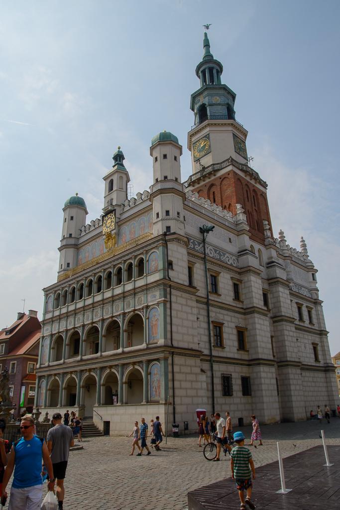 Poznan Ratusz Uniejów, Rogalin, Poznań