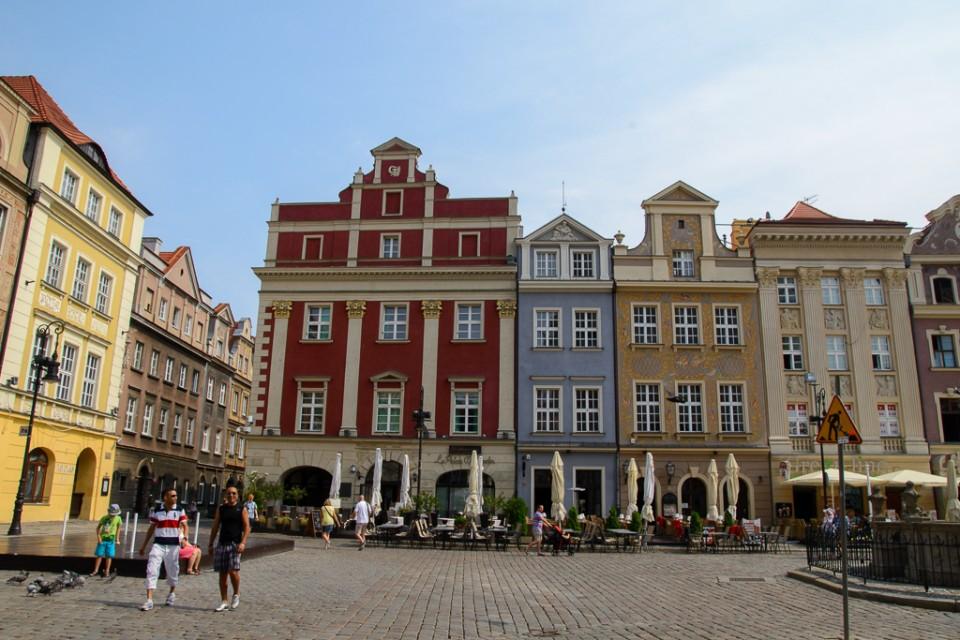 Poznan Rynek 960x640 Uniejów, Rogalin, Poznań