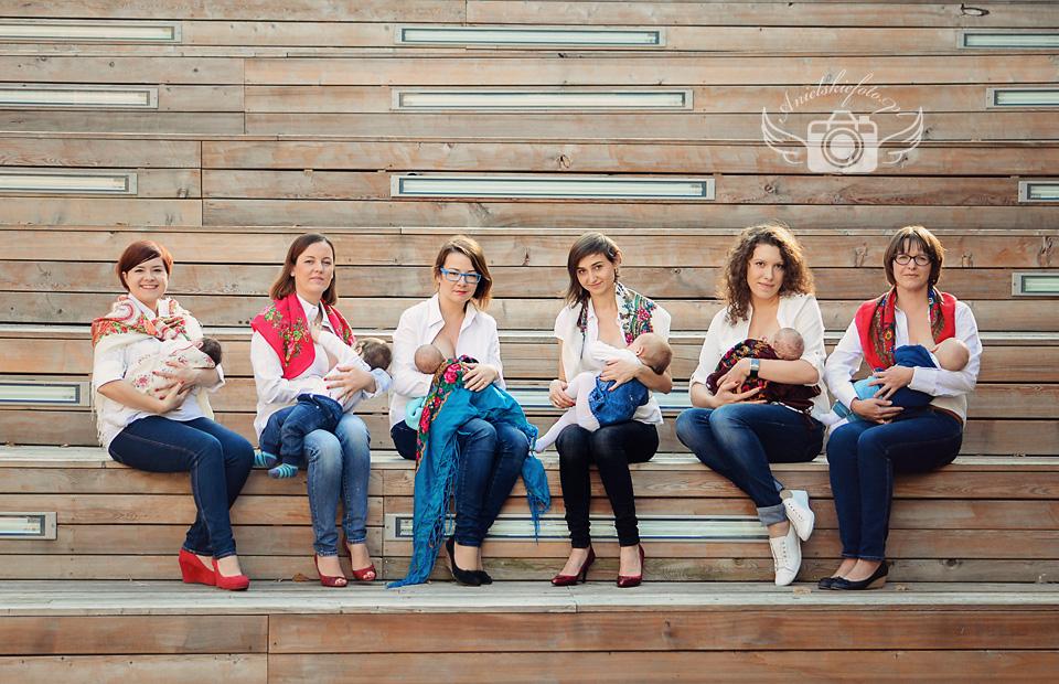 Kraina mlekiem i miłością płynąca zdjęcie grupowe
