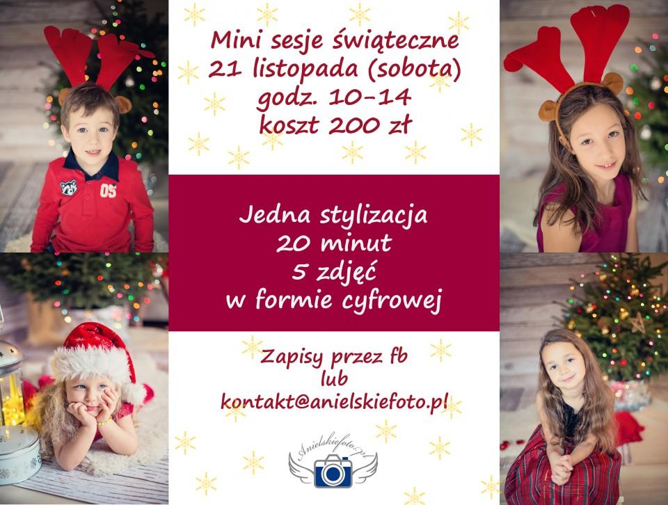 Minisesje Boże Narodzenie 960x726 Minisesje świąteczne