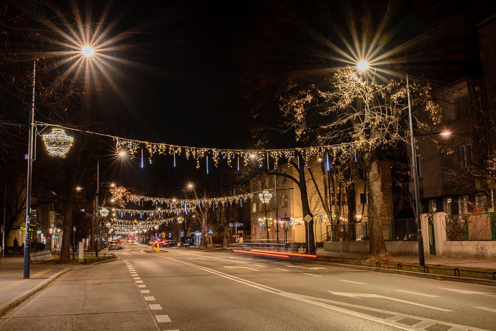 iluminacje francuska warszawa Warszawskie iluminacje 2015