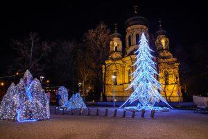 plac wilenski cerkiew iluminacje 1 300x200 Plac Wileński cerkiew iluminacje