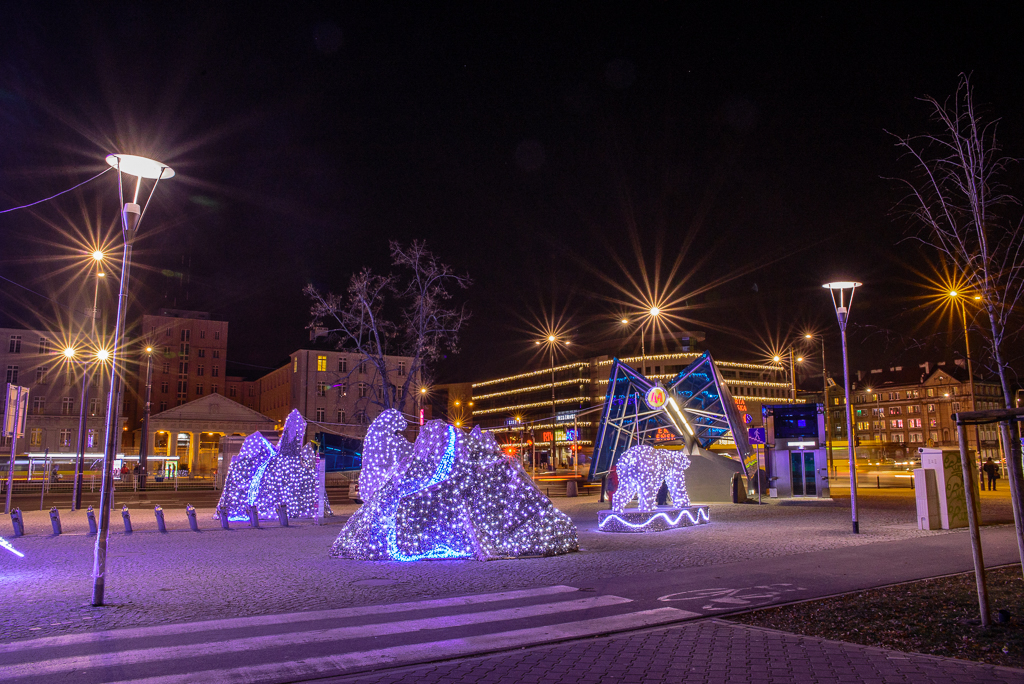 plac wilenski warszawa iluminacje Warszawskie iluminacje 2015