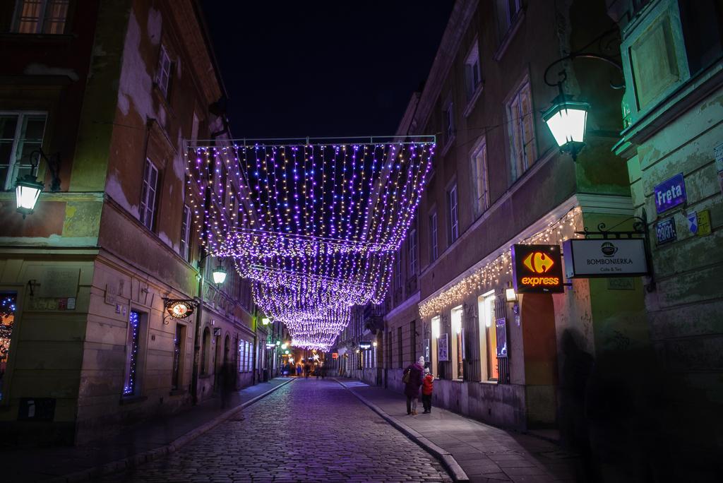 warszawa freta iluminacje Warszawskie iluminacje 2015