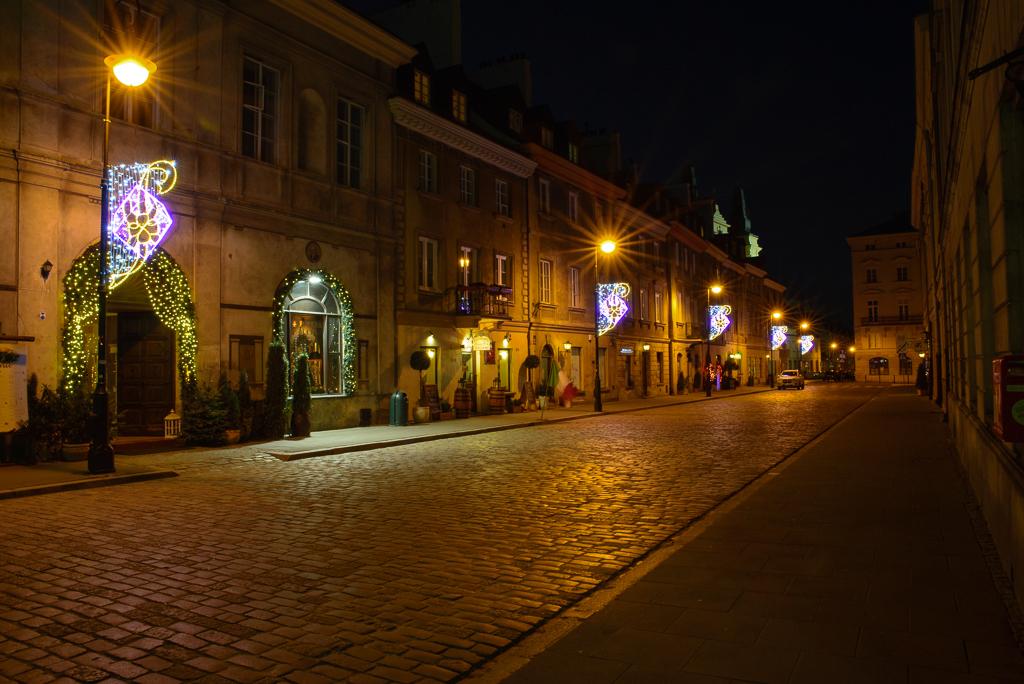 warszawa nowe miasto iluminacje Warszawskie iluminacje 2015