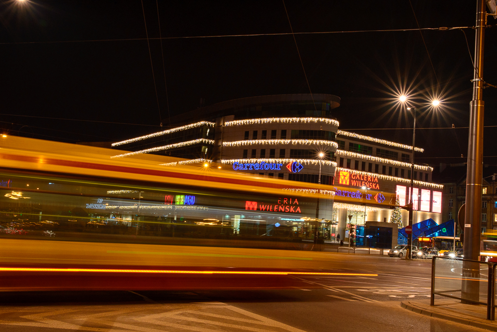 warszawa wilenska noca Warszawskie iluminacje 2015