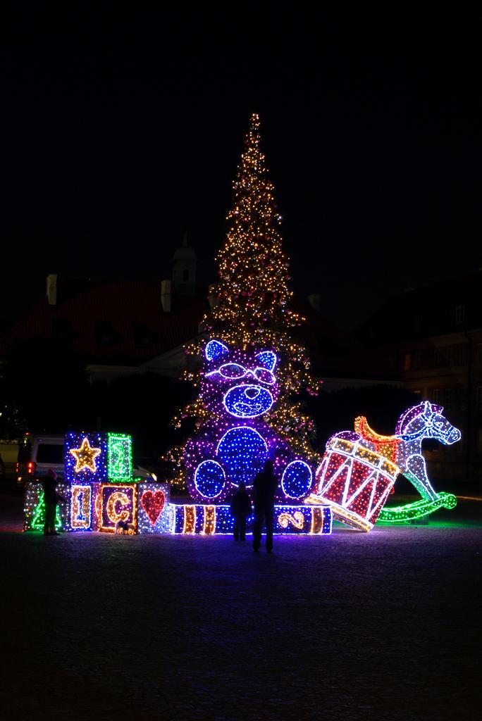 zabawki iluminacje nowe miasto Warszawskie iluminacje 2015