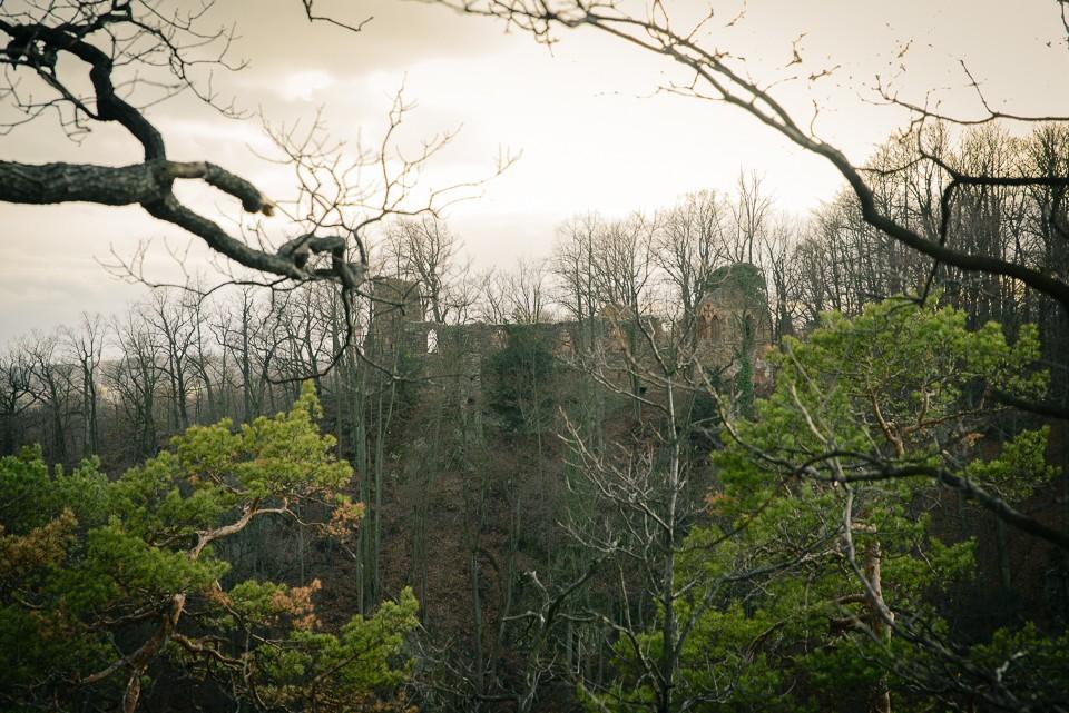 stary ksiaz ruiny 960x641 Zamek Książ