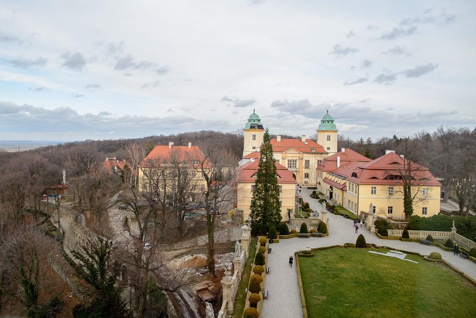 widok z okna ksiaz 960x641 Zamek Książ