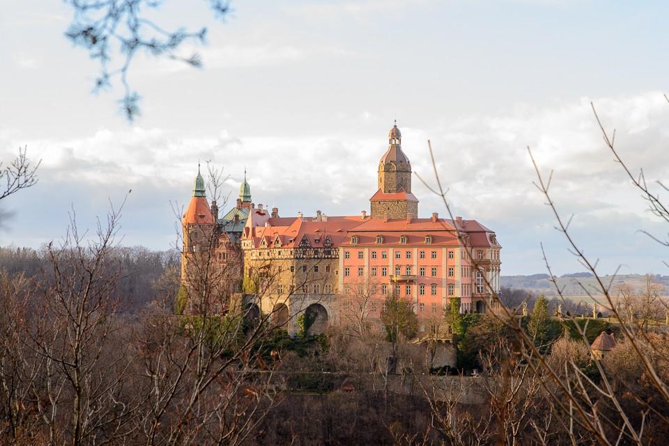 zamek ksiaz 960x641 10 miejsc na weekend w Polsce