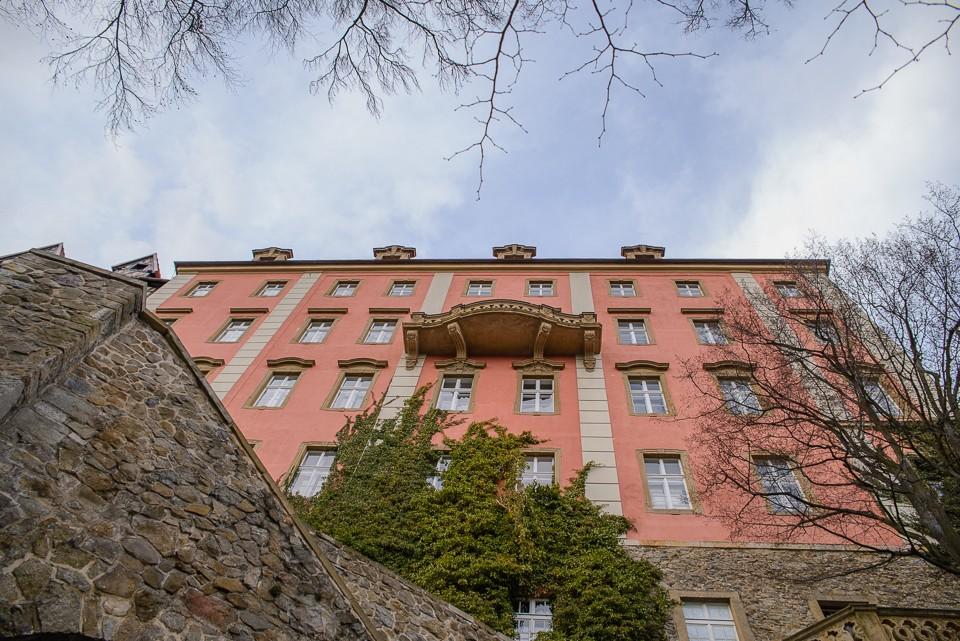 zamek ksiaz fasada 960x641 Zamek Książ