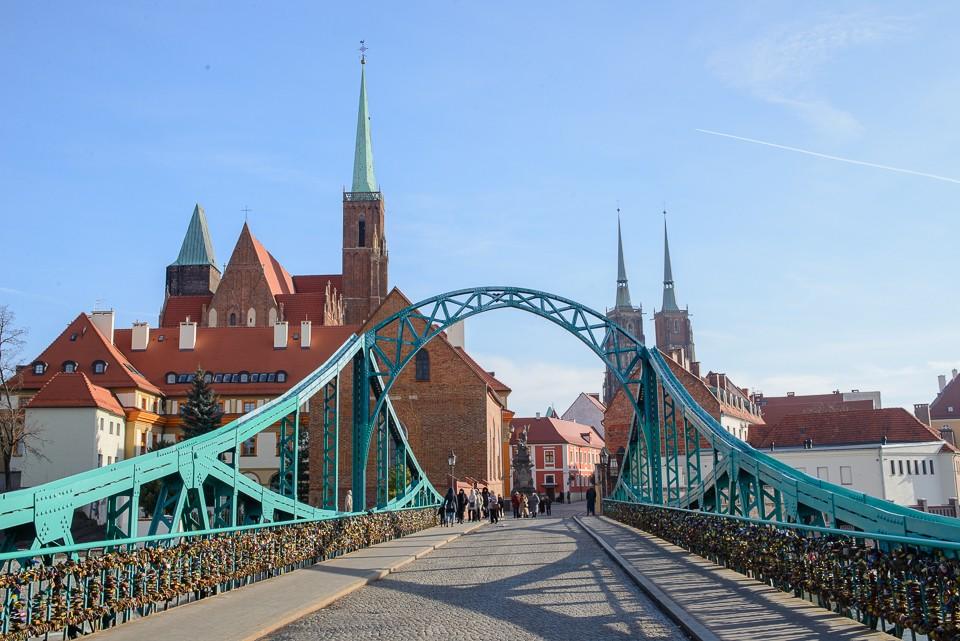 Wroclaw most 960x641 Weekend we Wrocławiu
