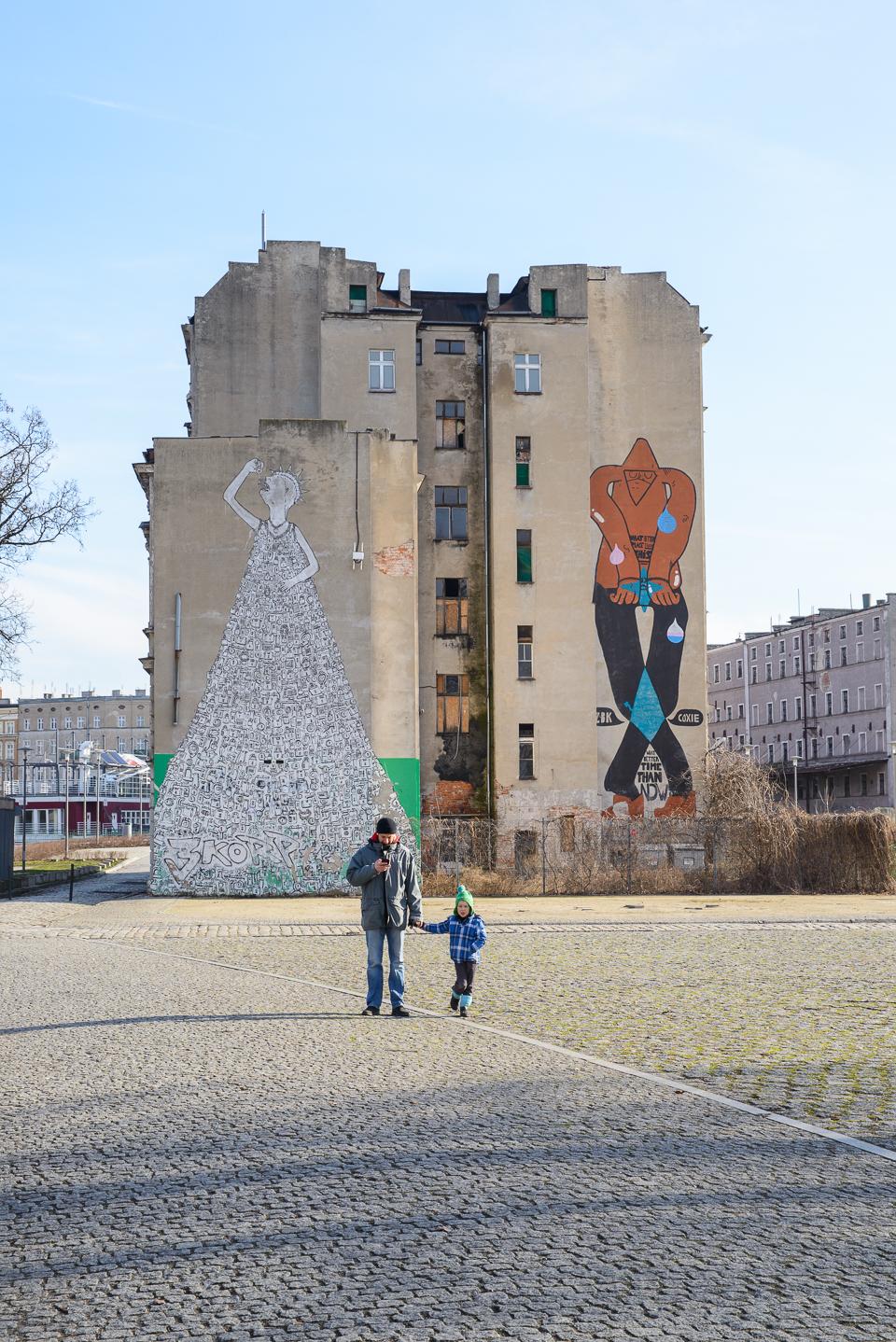 Wroclaw murale Weekend we Wrocławiu