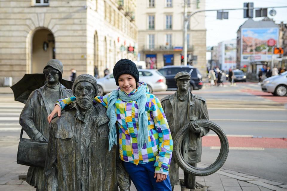 Wroclaw pominik anonimowego przechodnia 960x641 Weekend we Wrocławiu