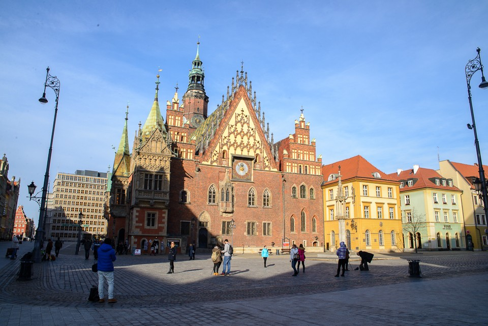 Wroclaw ratusz 960x641 Weekend we Wrocławiu
